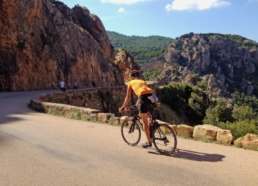Cycling the West Coast of Corsica